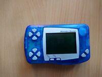 WS Bandai WonderSwan Console/System (Skeleton Blue) (Faulty) GAME HARDWARE