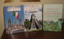 History collection - Latin America, Central America, Mexico - Lot Of 3 Books