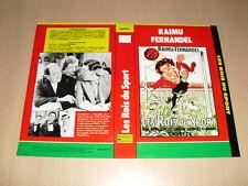 JAQUETTE VHS Les Rois du sport Fernandel Raimu