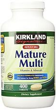 Kirkland Adult 50+ Mature Multi Vitamins & Minerals Antioxidant Protection