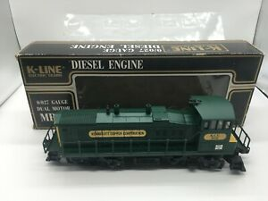 K-LINE K2252IC KCC Kennecott Copper MP-15 Diesel Engine Locomotive O Gauge Train
