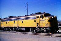 Original Railroad Slide Amtrak Locomotive 420 F Unit Cleburne, TX 1974
