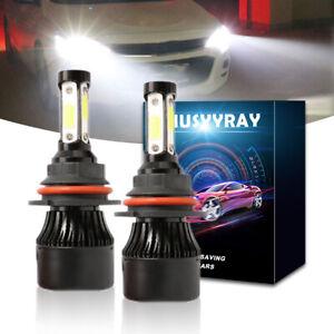 9007 4-Side LED Headlight Hi/Low Beam Bulb 6000K FIT MAZDA B Series 1995-2010
