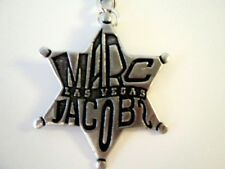 Marc by Marc Jacobs Las Vegas Keychain star shaped badge silver