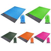 Waterproof Pocket Beach Blanket Portable Lightweight Mat for Outdoor Picnics