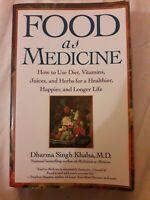 🌈 Food As Medicine Diet Vitamins DHARMA khalsa Jucies Herbs