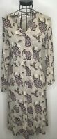 Pretty Ladies Seasalt Tallow floral long sleeved Dress Tunic  UK 12