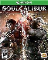 Soul Calibur VI XBOX ONE Brand New Factory Sealed