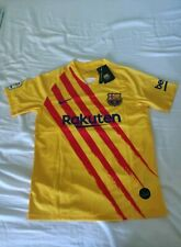 Lionel Messi #10 FC Barcelona Away Jersey - Men's Size M