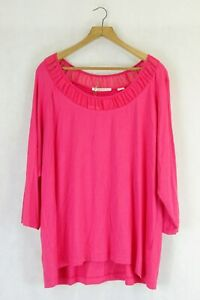 Jane Lamerton Long Sleeve Pink Top L by Reluv Clothing