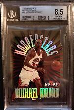 1997-98 MICHAEL JORDAN NBA HOOPERSTARS DIE CUT BGS 8.5 NM-MT+ HOOPS #H1