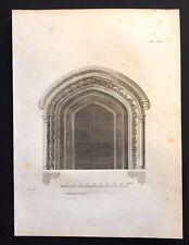 Antigüedad 1800 impresión constructores revista de diseño de arquitectura para un mausoleo XXI