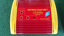 WECONIC VX-2200 2-KANAL CAR-HIFI ENDSTUFE 400W  brückbar MOSFET Nagelneu