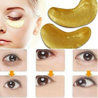 20pcs Crystal Collagen Gold Under Eye Gel Facial Mask Anti Aging Wrinkle Remover