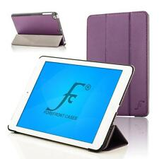 Vanguardia de los casos de Cuero Morado Inteligente Plegable Funda Protectora Ipad Air de Apple 2 Ipad 6