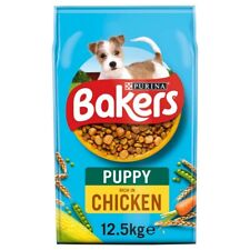 More details for bakers puppy dry dog food (chicken with vegetables) 1.1kg, 12.5kg