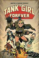 TANK GIRL #8 TITAN COMICS COVER A PARSON 1ST PRINT MARTIN