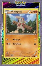 Charpenti - N&B: Noir et Blanc - 59/114 - Carte Pokemon Neuve Française
