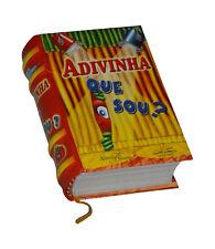 Adivinha que sou? in Portuguese capa dura de livro em miniatura ilustrado