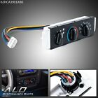 Fit For 99-04 Jeep Wrangler TJ HVAC A/C & Heater Control w/ Blower Motor Switch