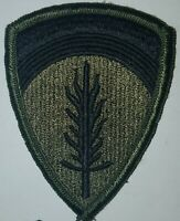 UNITED STATES ARMY EUROPE (USAREUR)  PATCH - SUBDUED BDU: BATTLE DRESS: VINTAGE