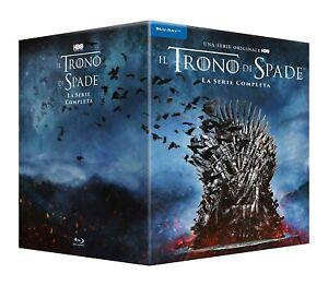 Blu Ray Trono di Spade Serie Completa - Stagioni 1-8 (33 Blu Ray)   ......NUOVO