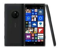 "Unlocked Nokia Microsoft Lumia 830 16GB GSM AT&T 5"" 10MP Black Windows"