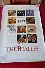 Vintage Rare Orig.1987 Beatles LP Covers Poster Abbey Revolver Let It Be Help