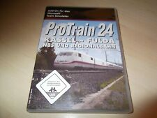 PROTRAIN 24 KASSEL - FULDA ~ MICROSOFT TRAIN SIMULATOR ADD-ON
