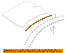 BMW OEM 13-16 535i-Roof Molding Trim Right 51137259920