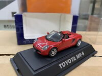 Ebbro 1/43 Toyota MR-S Red Diecast Car Model Collection
