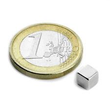 Super Magnete 5 Cubi al Neodimio Lato 5 mm Potenza 1000 gr. W-05-N Cubo
