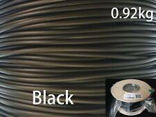 3DPlastX 1.75mm./300m./0.92kg. 3D-Drucker ABS Filament auf spule, Schwarz