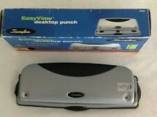 SWINGLINE 3 Hole Punch Grip Handle Easyview Desktop Punch 12 For Home, Office