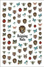Lion Nail Stickers