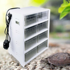 New listing Reptile Breeding Tank Acrylic Feeding Box Insect Spider Cage Pet Lizard Usa