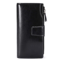 SENDEFN Purses for Women RFID Blocking Wallet Large Capacity Luxury Genuine with