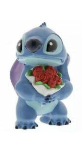Disney Showcase Lilo & Stitch Flowers Figurine/Ornament Cast Stone, Hand Painted