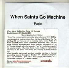 (CI378) When Saints Go Machine, Parix - 2011 DJ CD