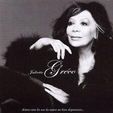 Juliette Greco ^ Aimez-Vous Les Uns Les Autres Ou Bien Disparaissez CD NEW