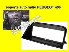 Marco de montaje  auto-radio Peugeot 406 con tuercas