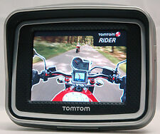 NEW TomTom RIDER 2 Motorcycle Bike 2nd Edition GPS Navigator USA Maps UNIT ONLY