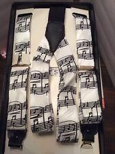 Musical Note Suspenders