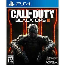 Playstation 4 Call of Duty Black Ops III 3 PS4 New Authentic US Free Shipping