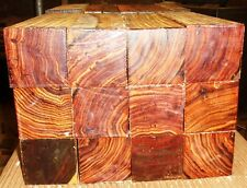 "1 piece of cocobolo rosewood turning square 2"" x 2"" x 24"" long REAL ROSEWOOD!"