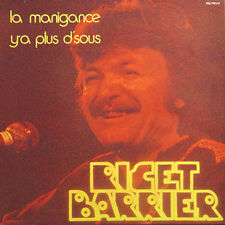 RICET BARRIER La Manigance / Y'a Plus D'sous FR Press M MLP 900 145 LP