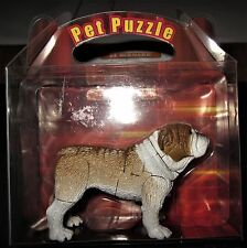 """Pet PuzzleToy (Bulldog) - Approx 2.75"""" in Height and 3"""" in Length - 20-25 Pieces"""