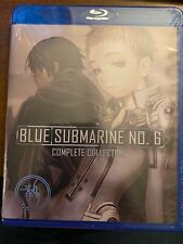 Blue Submarine No. 6 Blu Ray Discotek Official Release Anime Complete OVA Series