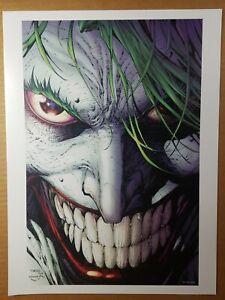 Joker 8 Batman Justice League Variant DC Comics Poster by Jim Lee
