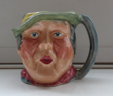 """Vintage Hand Painted Small Character Jug """"Sam Weller""""  Kelsboro Ware 5cms Tall"""